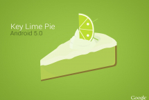 Android 5.0 Key Lime Pie | Android 5.0 Key Lime Pie Konsept Tasarımlar