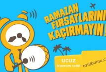 Ramazan Bayramında Ucuz Tatil | Şeker Bayramı Tatil Fırsatları