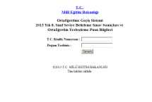 SBS Sonuçları | 2013 SBS Sonuçları Öğren MEB | SBS Sonuçları 2013