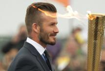 Ve David Beckham Futbol'u bırakır