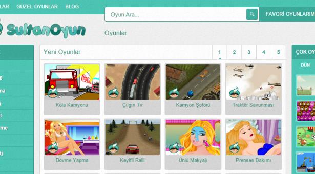 En iyi oyunlar oynamak için tek adresiniz: SultanOyun.com