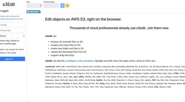 S3edit.com ile AWS S3 Dosya Düzenleme ve Yönetimi